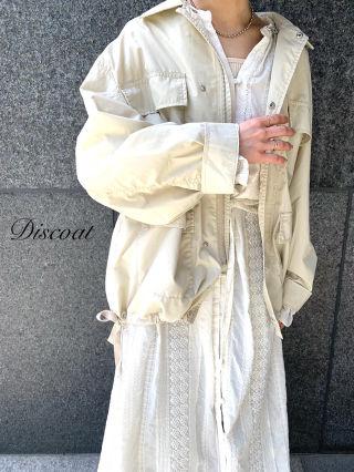新品 Discoat ミリタリーシャツジャケット