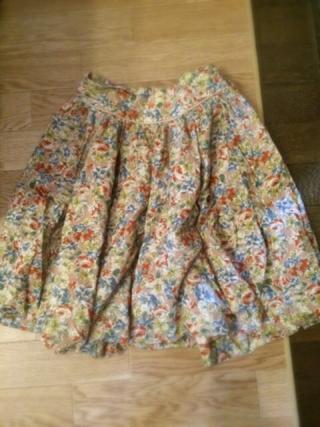 Cepo 花柄スカート