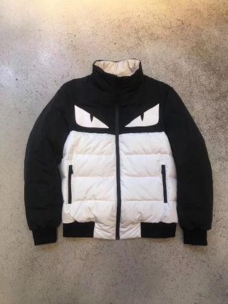 【高品質】秋冬  フェンディ メンズ ダウンジャケット5