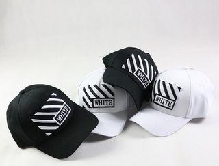 オフホワイト キャップ 帽 2点セット