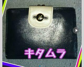 キタムラ がま口折財布