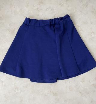 《即購入OK!》ロイヤルブルー フレアスカート