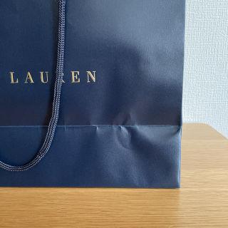 【未使用品】RALPH LAURENショップ袋(紙袋)5枚