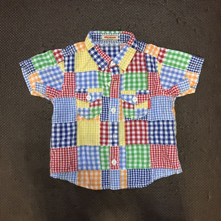 ミキハウスシャツ