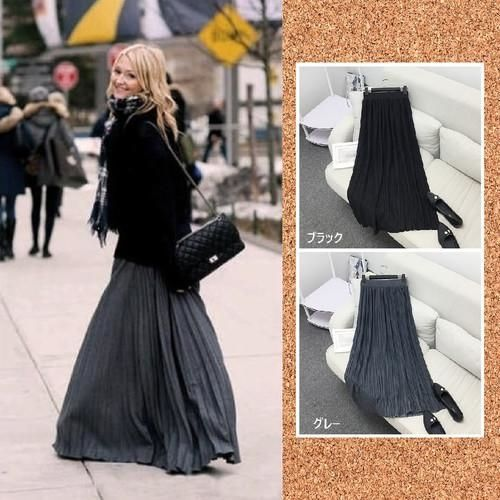 12 体型カバー ロングスカート