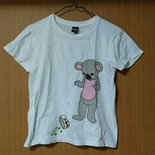 グラニフバックプリント付きTシャツ