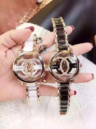 CHANEL 人気美品 可愛い腕時計 スケルトン ウォッチ