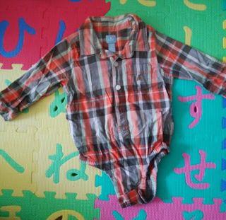 babyGap ロンパースシャツ