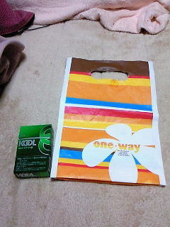 one*way ショ袋小。