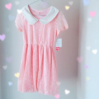ピンク ワンピース