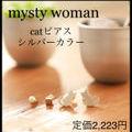 定価2,223円catピアスSETシルバーカラー