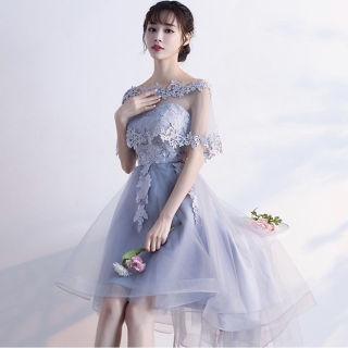 【ラスト1点】花柄レースドレス