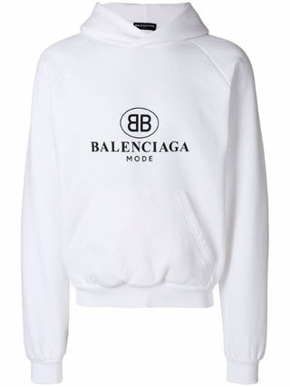 バレンシアガパーカー balenciagaパーカー 男女兼用
