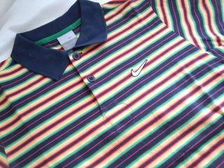 NIKEポロシャツ150・NAV