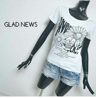 GLAD NEWS*Tシャツ