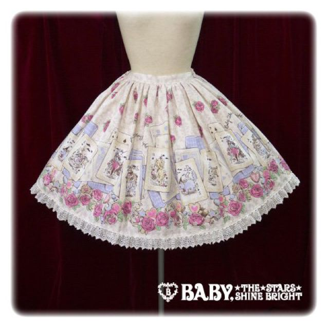 BABY 薔薇咲く夜に訪れる不思議な物語スカート(BABY, THE STARS SHINE BRIGHT(ベイビーザスターズシャインブライト) ) - フリマアプリ&サイトShoppies[ショッピーズ]