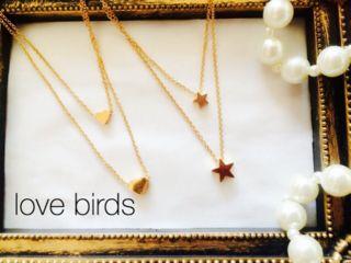 Love birds ネックレス