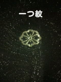 黒銀ラメ*モアレ/一つ紋正絹袷158未使用レタP