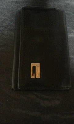 グッチ 黒革製6連キーケース