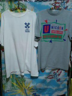 当時物 ユニコーン ライブツアーTシャツ 2枚セット