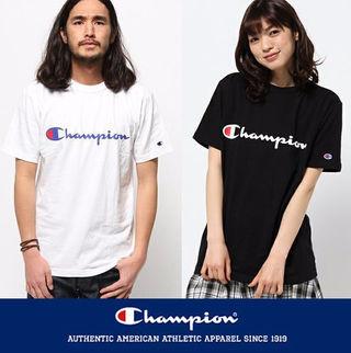 大人気 美品 チャンピオンTシャツ 男女兼用
