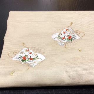 刺繍 オシャレ 帯