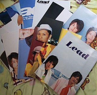 Lead ポスター 14枚セット+切り抜きオマケ