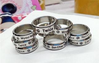 twice 指輪 ネックレスリング