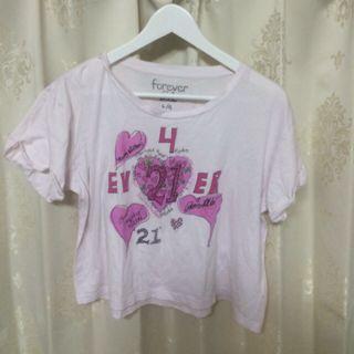Forever21 ヒルトン姉妹コラボT