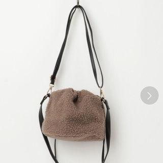 もこもこ バッグ