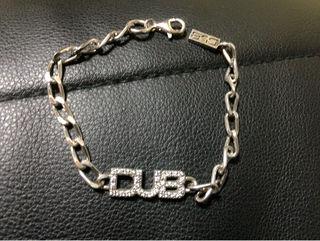 最終値下げ DUB 繊細な鎖が上品に光るブレスレット