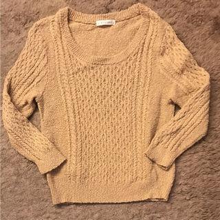 LOWRYS FARM7分丈セーター