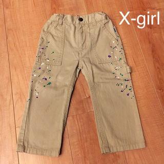 【x-girl】85~90cmぐらい パンツ ズボン