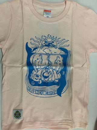ハンドメイドマザーアースキッズTシャツ130