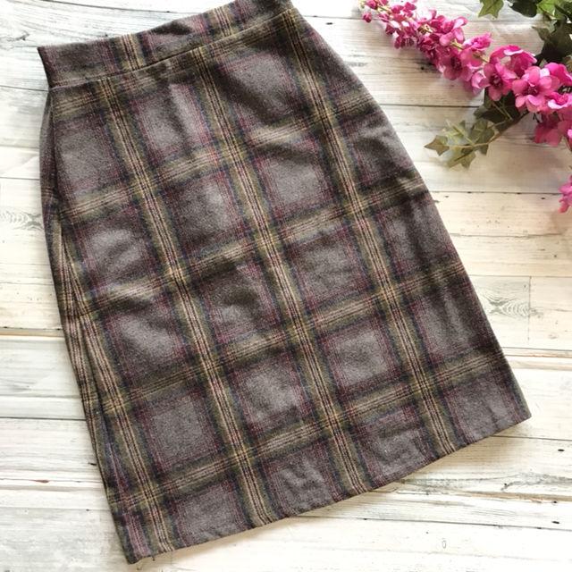 新品 韓国 ウールスカート オルチャン