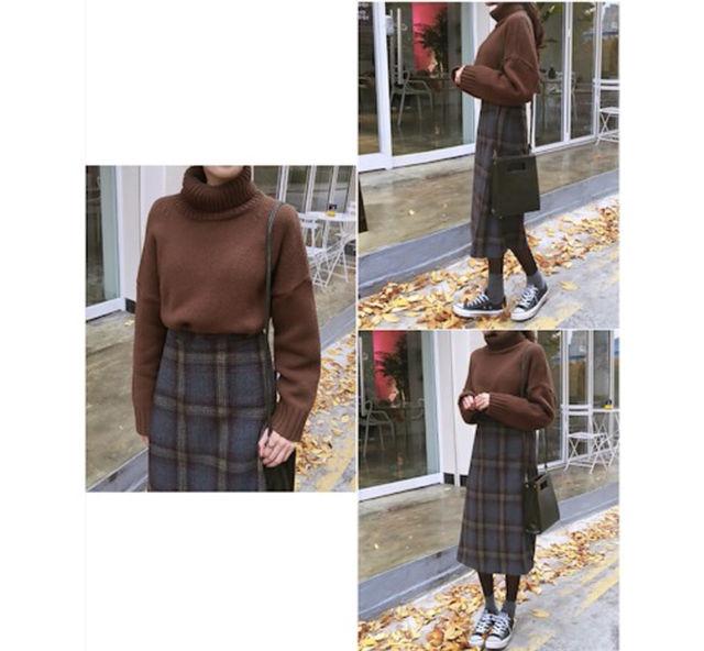 新品 韓国 ウールスカート オルチャン(DHOLIC(ディーホリック) ) - フリマアプリ&サイトShoppies[ショッピーズ]