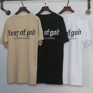 フィアオブゴッドtシャツ