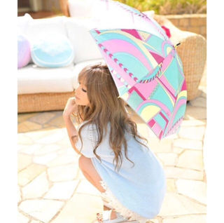 Rady遊園地マーブル 日傘 傘 ノベルティー