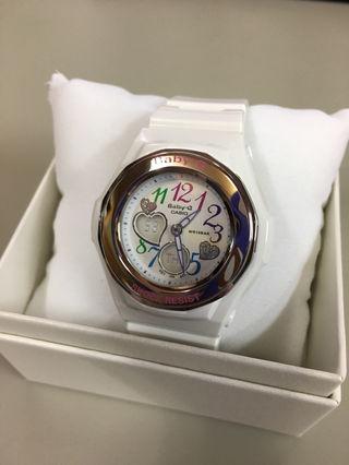 新品未使用BABY-G腕時計ホワイト