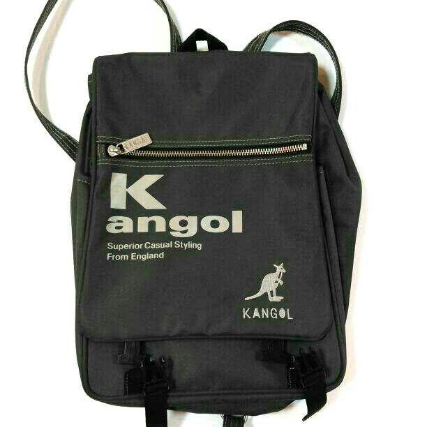 KANGOL【日本製】リュック (ナイロン?ビニール?)(KANGOL(カンゴール) ) - フリマアプリ&サイトShoppies[ショッピーズ]