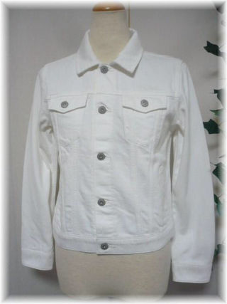 earthホワイトジャケットS【No.5333】
