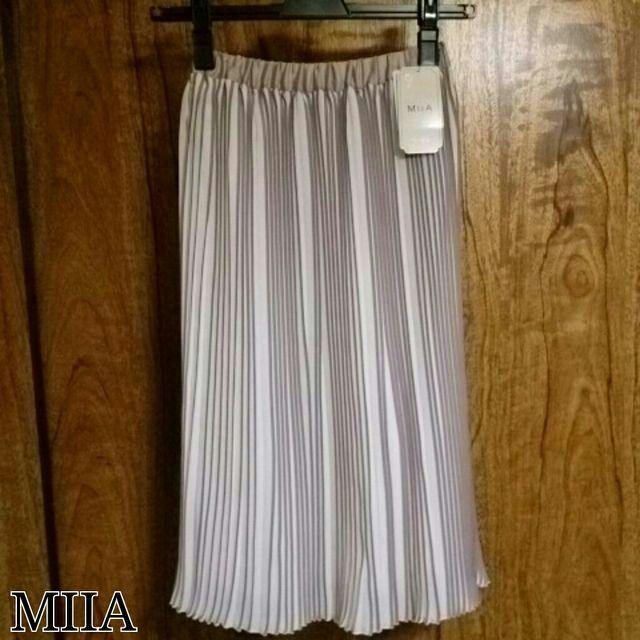 MIIA*プリーツスカート(MiiA(ミーア) ) - フリマアプリ&サイトShoppies[ショッピーズ]