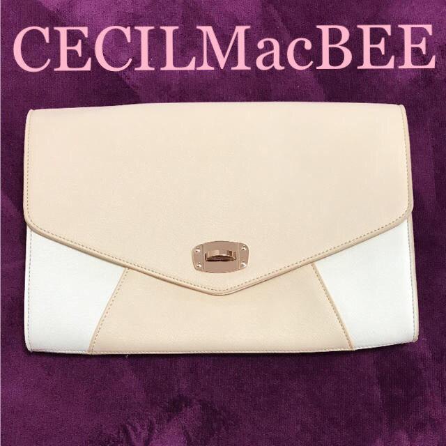 CECIL McBEE大きめクラッチバッグ