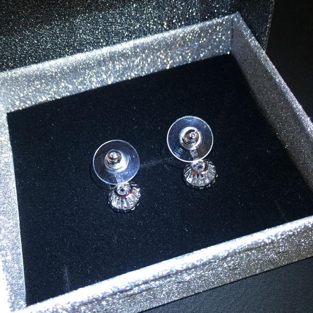 ピアス 両耳ペア1set ジルコニア クリスタルガラス