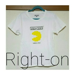 Right-on パックマンTシャツ
