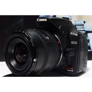すぐ撮影可能 Canon Kiss N レンズキット
