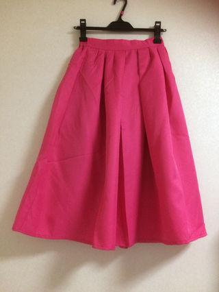 グレイル GRL 鮮やかなピンクのスカート