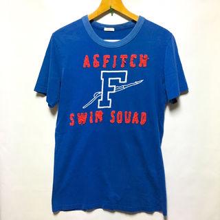 アバクロンビー&フィッチ ワッペン 刺繍 ロゴ Tシャツ