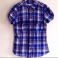 H&M 鮮やかチェックシャツ