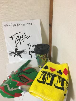 EXILE TETSUYA 直筆サイン付 グッズセット